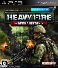 Used PS3  Heavy Fire: Afghanistan PLAYSTATION 3 SONY JAPAN JAPANESE IMPORT