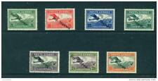 More details for albania  - 1927 air set hinged mint