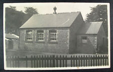 POSTCARD Bwlchgwyn Village School / Hall ? Real Photo; Wales