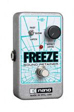 Electro-Harmonix Freeze Sound Retainer Guitar Effects Pedal EHX