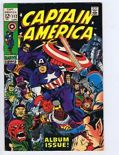 Captain America #112 Marvel 1969