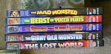Creature Movies Lot 5 Dvds Vg+ The Lost World Mad Monster Beast of Yucca Flats