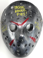 "Ari Lehman ""Jason Never Dies!"" Autographed Jason Voorhees Friday the 13th Mask"