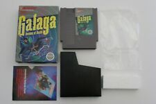 Galaga Demons of Death NES Game Box Nintendo