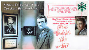 17-405, 2017, Its a Wonderful Life, Seneca Falls NY, Pictorial, Event Cover,