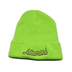 Allagash Brewing Company Winter Knit Hat Beanie Cap Craft Beer Portland Maine