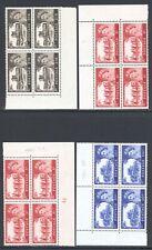 Great Britain Gb 1967-68 2sh6d-£1 Qeii Blocks Collection Mnh £123+/$155+