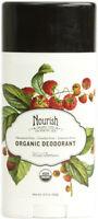 Organic Deodorant by Nourish, 2.2 oz Almond Vanilla