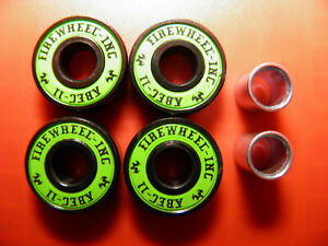 4 x ABEC 11 SCOOTER SKATEBOARD BEARINGS *NEW* GREEN SHIELDS