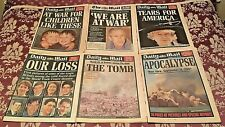 More details for * 6 x daily mail newspapers - 12th to 17th september 2001 9/11 editions - rare *