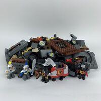 Lego Duplo Knights Castle Building Bricks/ Blocks Figures/ Parts Huge Lot 2.5 kg
