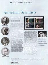 #736 37c American Scientists #3906-3908 USPS Commemorative Stamp Panel