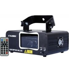 CR WEAPON BLUE DUAL HEAD LASER (500MW) (DMX, automatic, music, wireless remote)