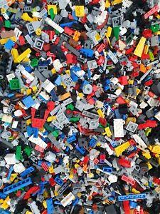 Lego Joblot 1KG-1000G Mixed Parts Pieces 1x1 2x2 mosaic genuine lego