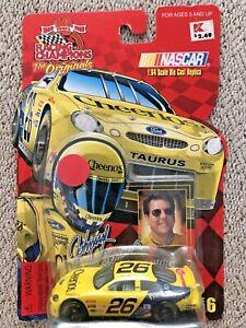 1999 Johnny Benson #26 Cheerios NASCAR 1/64 Diecast Racing Champions Taurus new