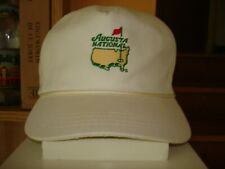 Vintage Augusta National Jack Nicklaus Signed + Members Only Rope Hat Excellent