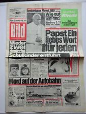 Bild Zeitung 17.11.1980, Papst Johannes Paul II, in Deutschland