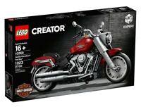 LEGO 10269 Harley-Davidson Fat Boy * Brand new factory sealed * Harley Davidson