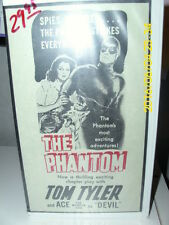 THE PHANTOM TOM TYLER and ACE SERIALvhs format factory sealed