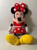 "Disney Parks Authentic Original Minnie Mouse 12"" Plush Stuffed Animal"