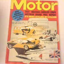 Motor Magazine Vauxhall Cavalier Coupe August 20, 1977 062017nonrh