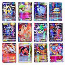 100pcs Pokemon Cards 20GX+ 20Mega+ 59EX+ 1Energy Holo Flash Trading Card USA