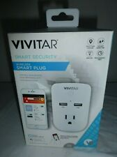 Vivitar Ha-1009 Smart Security Wireless Smart Plug w/ Timer Works W/ Google
