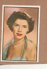 1953 Bowman Radio/TV stars # 18 Patricia Wheel