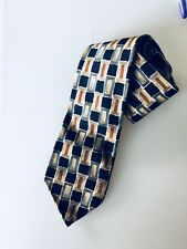 Tie Rack HAVANA Polyester Abstract Tie in excellent condition Worn one time only
