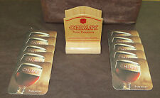 NEW Chimay Belgian Trappist  Wooden Stand + 10 Beercoasters