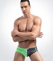 UK Stock New Slim Fit Sexy Men's Swimming Trunks Briefs Beachwear Swimwear Short