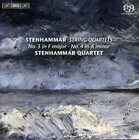 Stenhammar Quartet, Wilhelm Stenhammar - String Quartets 1 [New SACD] Hybrid SAC