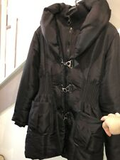 Beautiful Black Coat Softy Collection Size L (14-16)