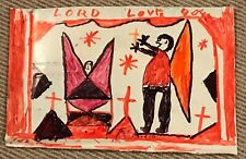 RA Miller Angels Drawing Southern Georgia Folk Outsider Art