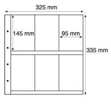 5 x WHITE 'MAXIMUM' 6 POCKET PORTRAIT SLEEVES, VINTAGE (145mm X 95mm) POSTCARDS
