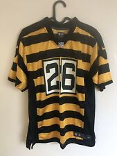 Nike NFL Pittsburgh Steelers Throwback Bumble Bee Footba Jersey Yth Large L Bell