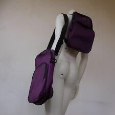 Duo sacoche bandoulière + sac à dos voyage vintage