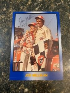 Masters of Racing Joe Millikan Signed Trading Card-Combined Shipping Eligible