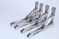 2pcs of 250kg Polished 304 Stainless Steel Table Folding Bracket Long Release AU