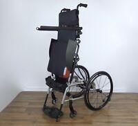 Levo LCEV stander - power stand-up VS wheelchair, permobil-llifestand-tilite