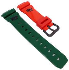 Uhrenarmband für Casio G-Shock In4mation G-Lide rot/grün GLX-6900