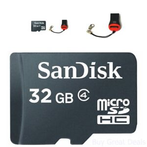 Micro SD Memory Card 32gb SDXC TF Flash Class 10 Perfect for Smart Phones