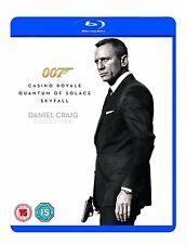 DANIEL CRAIG JAMES BOND TRILOGY BLU RAY COLLECTION TRIPLE PACK 3 Movie 007 Film