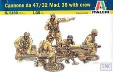 6490 ITALERI 1/35 mod. da 47/32 mod. 39 con equipaggio kit modello