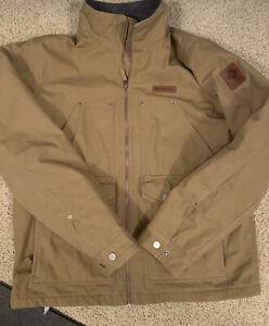 Men Columbia Loma Vista Jacket Delta Beige, Size Medium, VGC