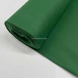 150cm Wide Felt Baize Poker Bridge Card Craft Table Fabric Green Baize