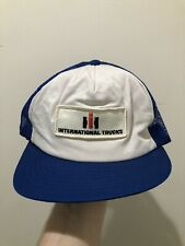 Vintage 70s 80s Case IH Patch Mesh Snapback Trucker Hat Cap By Swingster USA