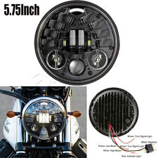 New 1x 5-3/4 5.75 in. Daymaker LED Headlight Refit Light for Harley Motorcycle