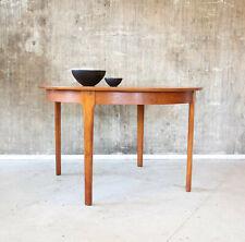 60er Teak Esstisch rund Danish Mid-Century 60s Dining Table Vintage