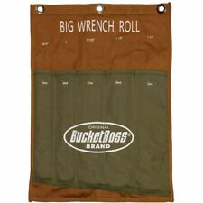 Bucket Boss Big Wrench Roll Fits 22mm to 32mm Metric or 15/16 to 1 1/4 SAE